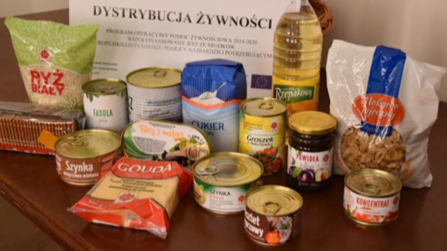 Pomoc żywnościowa od GOPS