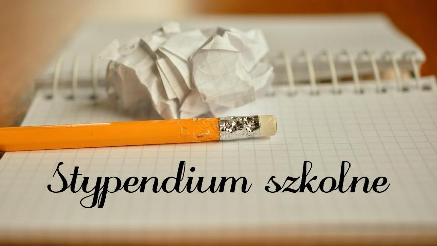 Stypendium szkolne na rok 2020/21
