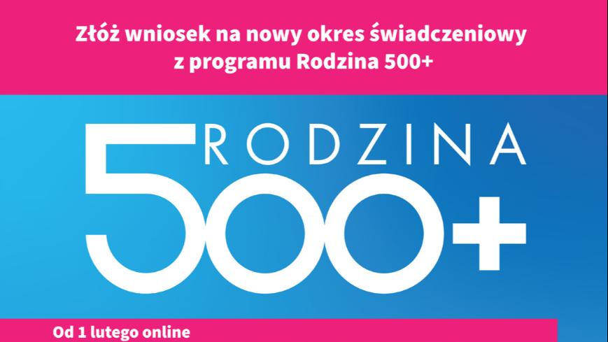 """Program """"Rodzina 500+"""